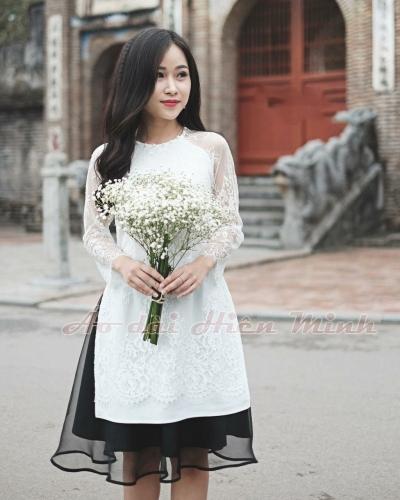 Áo dài cách tân nữ cách điệu hiện đại